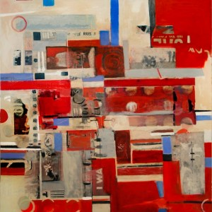 Adi Zur - Thornhill, Canada Title: the story of rules Medium: mixed media Size: 48x48 inches