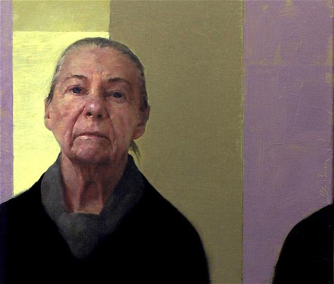 David Bender Title: ethel Medium: oil Size: 15 x 18 inches