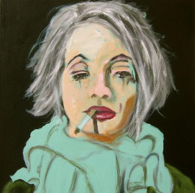 "Title: ""Mardi Gras Day"" Medium: Acrylic on Canvas Size: 20""x20"""