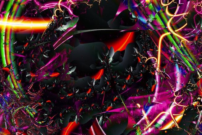 "Title: Sunset 6B Medium: Digital on paper Size: 50w""x33h"""