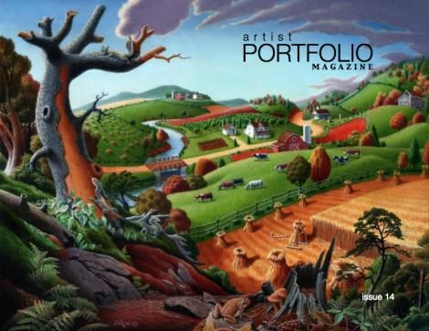Artist Portfolio Magazine - Issue 14