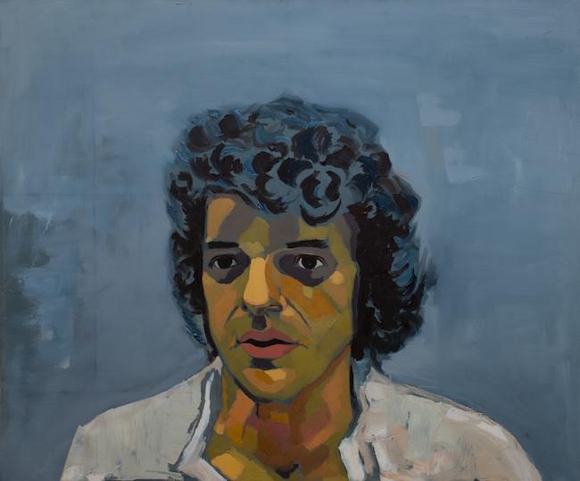 "Jennifer Bilek - Woodside, NY Title: Derrick Jensen-Cymotrichous Medium: Oil on canvas Size: 30""x36"""
