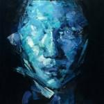 "Yi Shin Chiang – San Francisco, CA TitleUnknown   MediumOil on Canvas   Size36""x 36"""