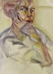 "Marika Ratkeviciute – Chicago, IL TitleReflection #1   MediumWatercolor on paper   Size22""x 36"""