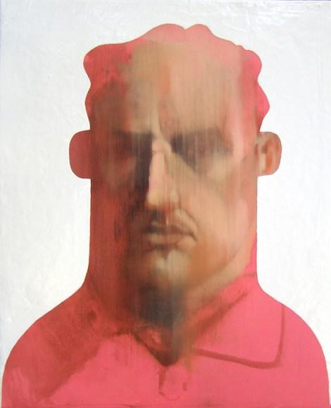 "TitleStaring Into A Glimpse   Medium oil, enamel, acrylic, and cold wax medium on canvas   Size16"" x 20"""