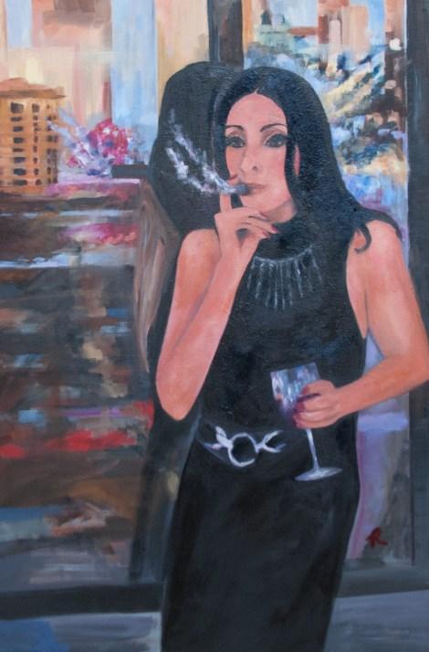 "TitleThe Seduction   MediumOil Painting   Size24"" x 36"""