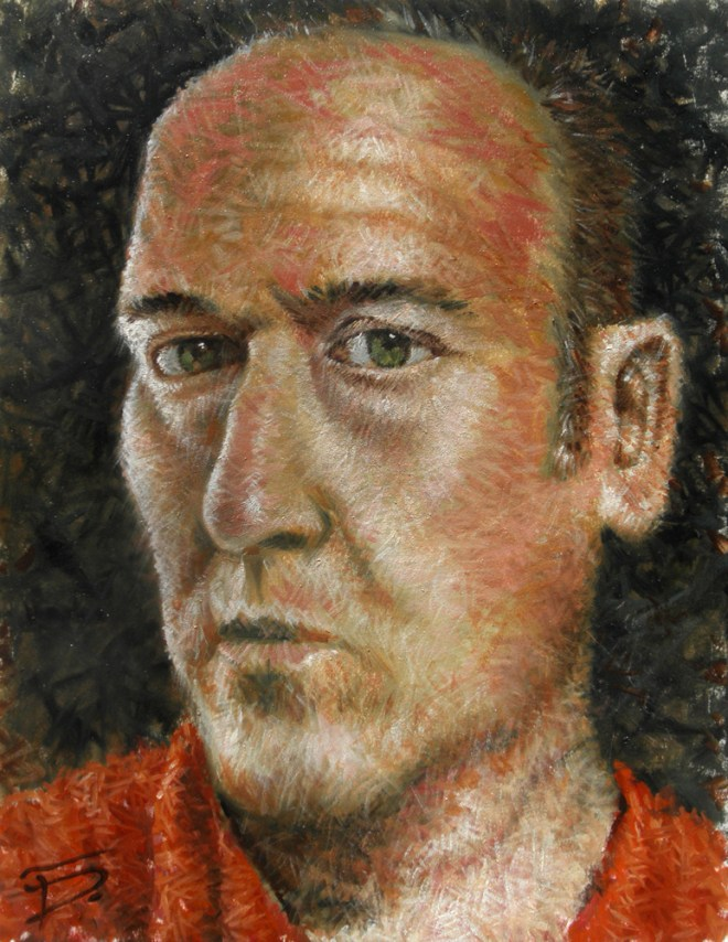 "Title Self Portrait   Medium 	Oil painting/traditional   Size 	16"" x 12"""