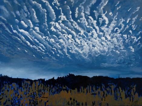 "Title:Wild Day Medium:Oil on canvas Size:36"" x 48"""