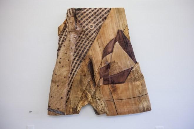 Title Job Interview   Medium Wood, Metal   Size 5'x4'
