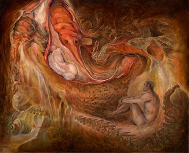 Title Connection   Medium oil on canvas   Size 45x55cm