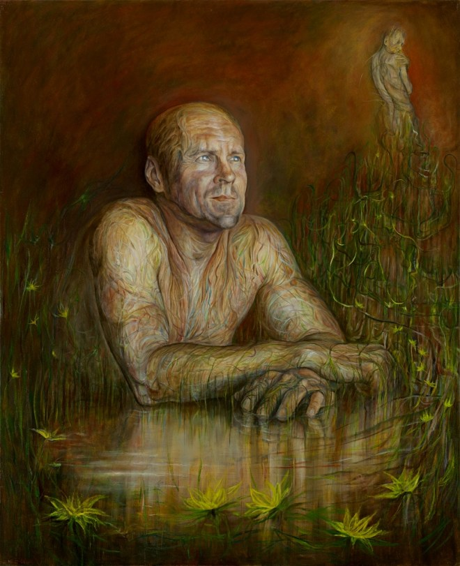Title Eudaimonia   Medium oil on canvas   Size 94x77cm