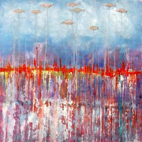 Title:Edward Medium:Acrylic on canvas Size:100x100