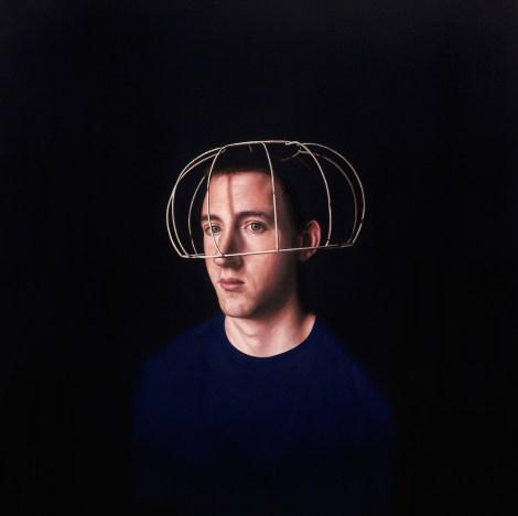 Title:The Artist Medium: oil Size:90cm x 90cm