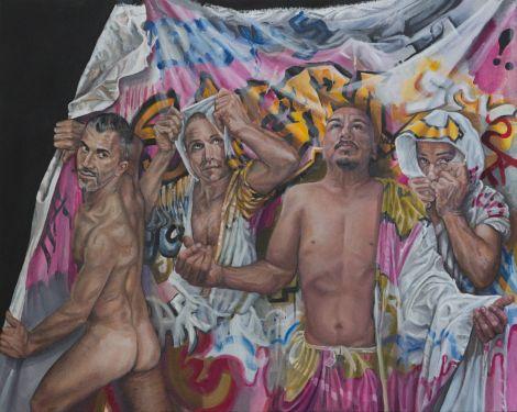 Title:Awakening from Samsara Medium:acrylic on cavas Size:24x30