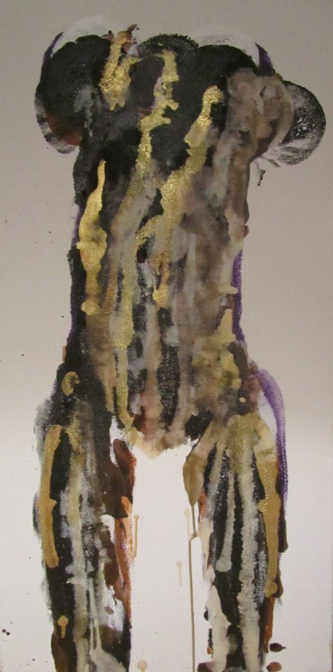 Title:Transition Medium:	Acrylic Size:	36''x18''