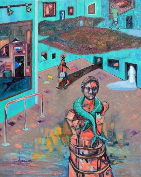 "TitleInterioridades. Medium Oil on canvas Size 20x16"""