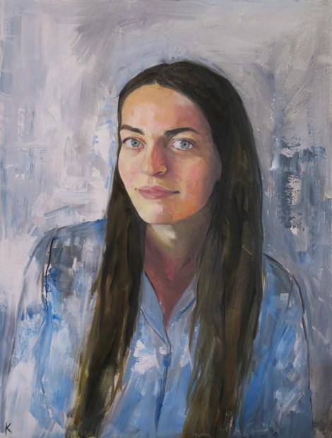 TitleAnastasia   Mediumoil on canvas   Size18 x 24