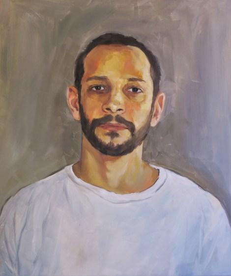 TitlePortrait of Uri   Mediumoil on canvas   Size20 x 24