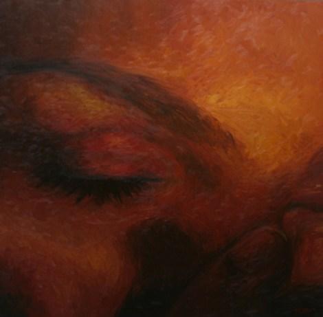 "TitleRedemption   MediumOil on Canvas   Size36"" x 36"""
