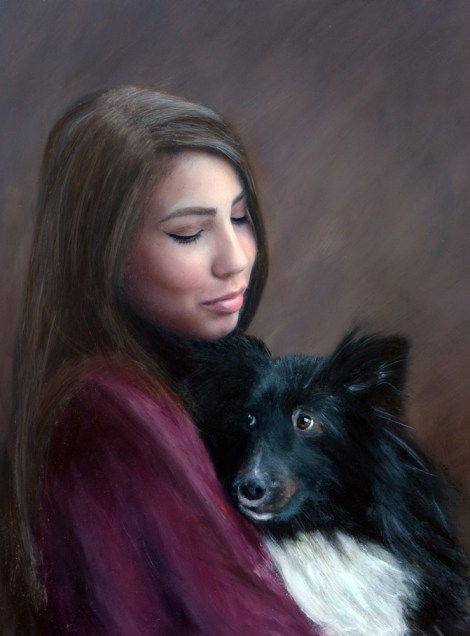 TitleLoyal Companion   MediumPhotography and oil painting   Size12x16