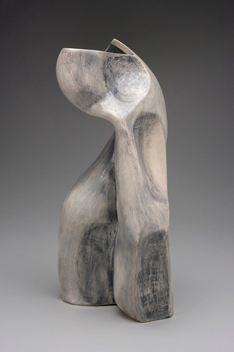 Title:Sister Grove Medium:	Clay Size:	19Hx10Wx8in