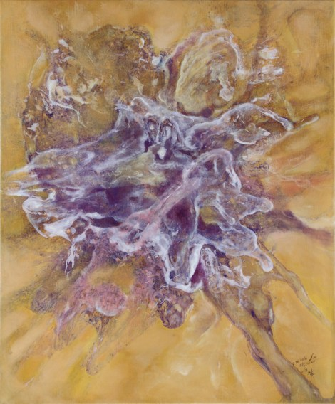 Title:Thrust Medium:	Oil on Canvas Size:	53x45.5cm