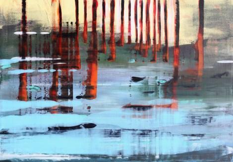 Title:No title Medium:Acrylic on canvas Size:80 x 120 cm