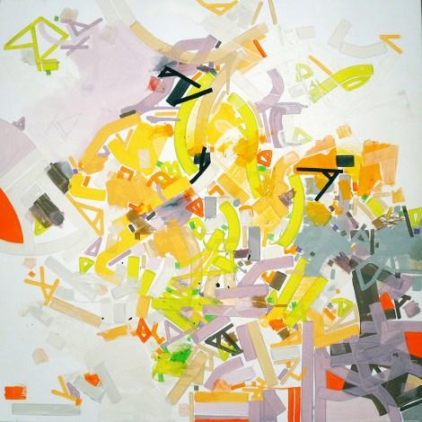 "Title:Tiichy Igael Medium:acrylic Size:32""x32"""