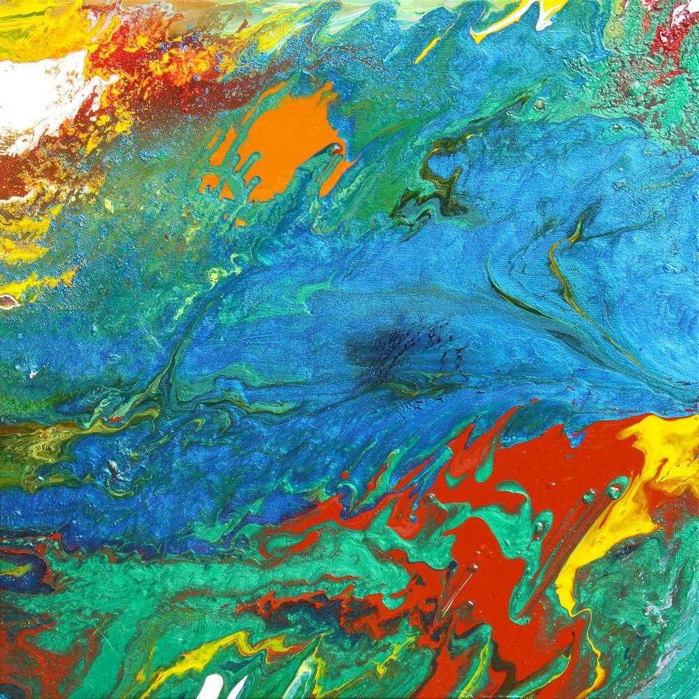 "Title: Daydream Medium: Acrylic on Canvas Size: 24""x24"""