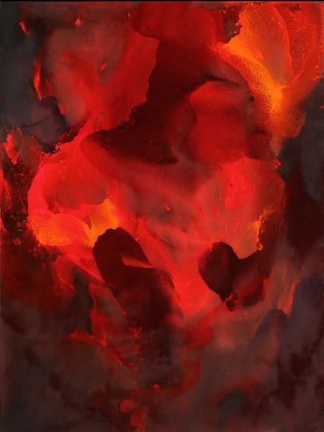 """Title:Sunrose Medium:Oil on Wood Panel Size:48"""" x 36"""""""