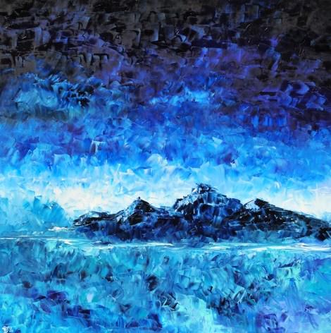 Title:Jewel Medium:oil on canvas Size:100*100cm