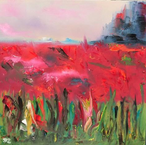 Title:Sympathy. Passion. Love Medium:oil on canvas Size:50*50 cm