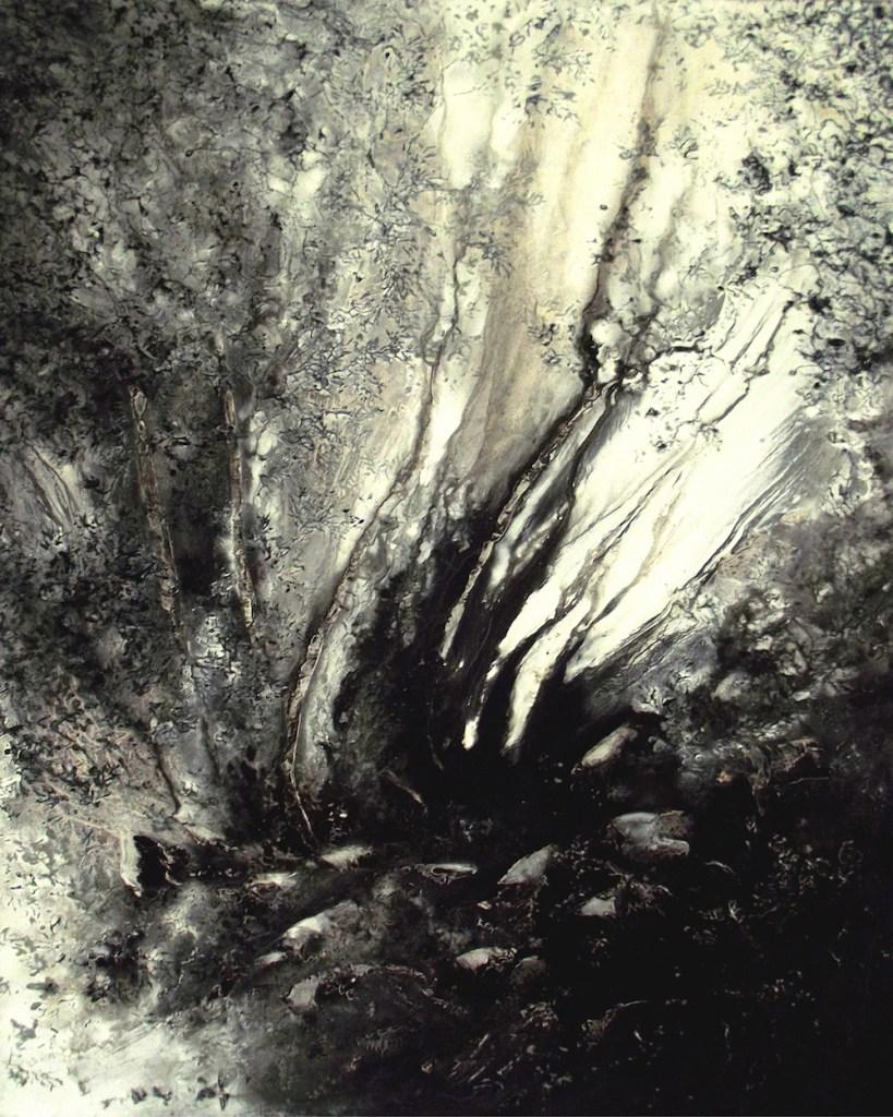 Title:Sinuous Medium:Oil on Canvas Size:70 x 100 cm