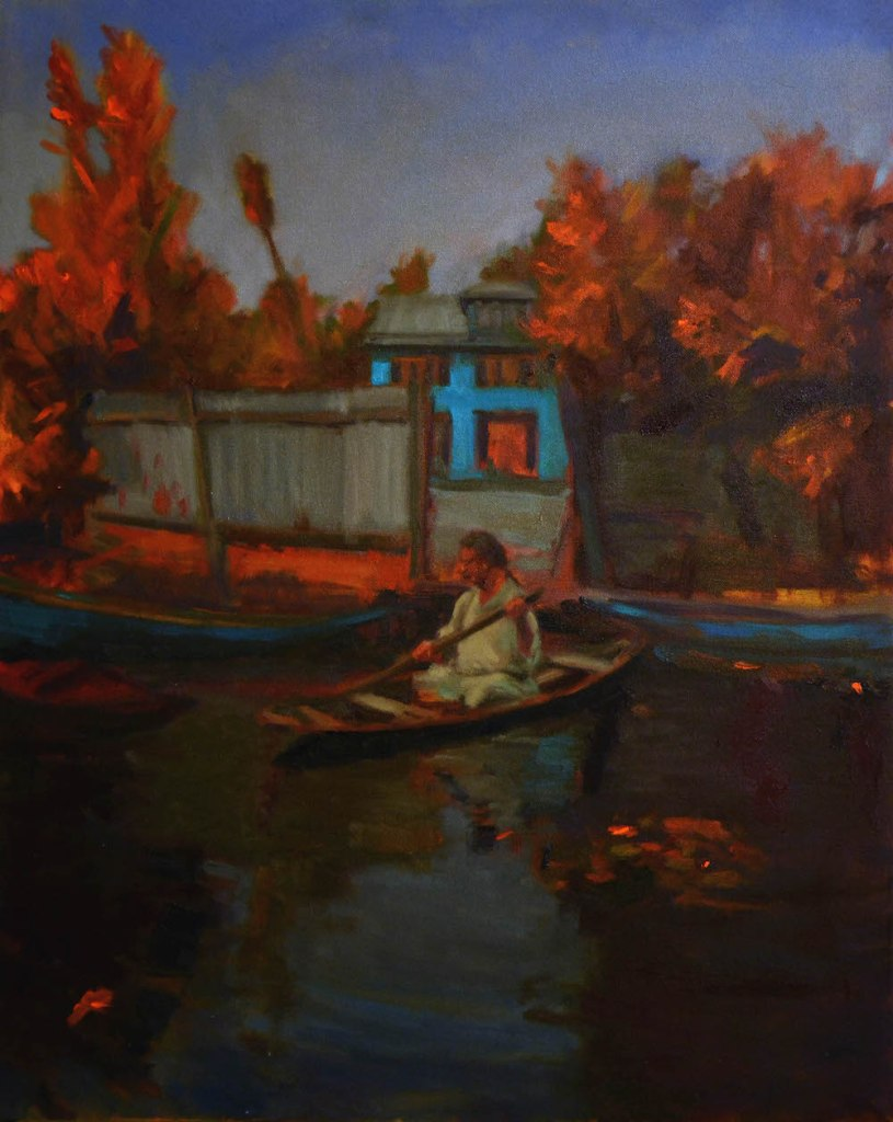 Title:On the Water Medium:	Oil on Canvas Size:	24 X 30 inches