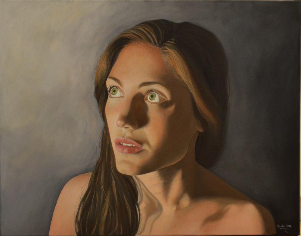 Title: Illuminated Medium: Oil on canvas Size: 90x70