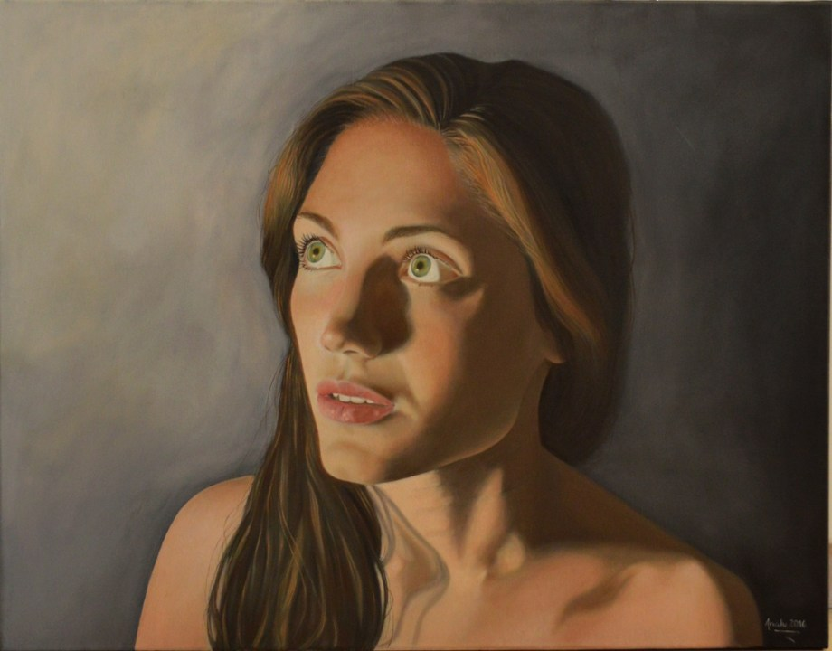 Title:Illuminated Medium:Oil on canvas Size:90x70