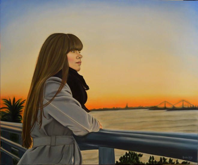 Title:Reflective Medium:Oil on canvas Size:120x100
