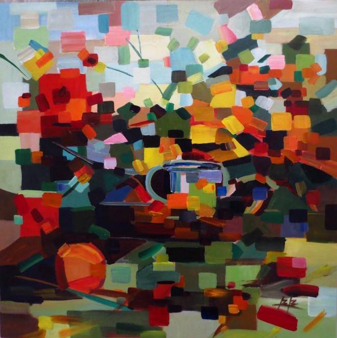 Title:Ode To Schmid Medium:Acrylic Size:30x30