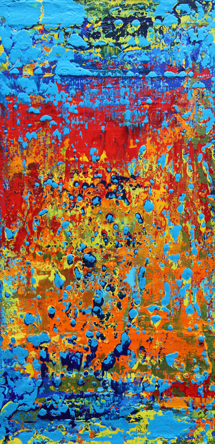 "Title:Pleasure of the Autumn Medium:Mixed media on canvas Size:20""x16""x1.5"""