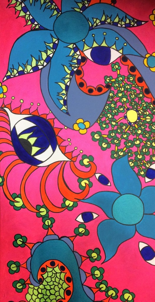 Title:The Mind's Eye Medium:Acrylic on Canvas Size:48in x 24in
