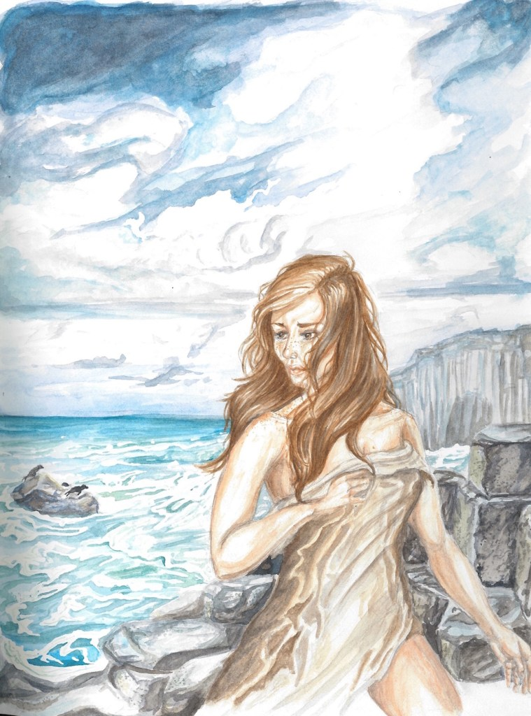 Title:She Sheds Medium:	Watercolor Size:	1482 x 2000 pixels