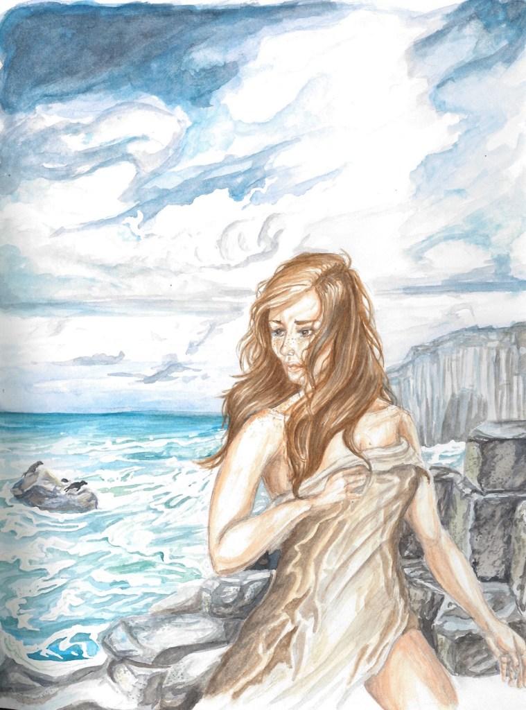 Title:She Sheds Medium:Watercolor Size:1482 x 2000 pixels