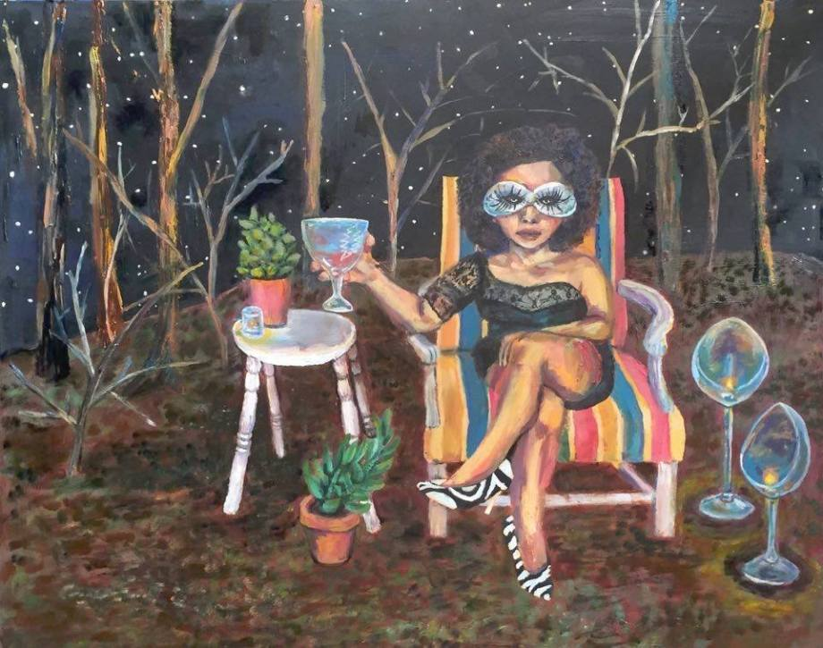 """Title:The Days Between Medium:oil on wood Size:24"""" x 36"""""""