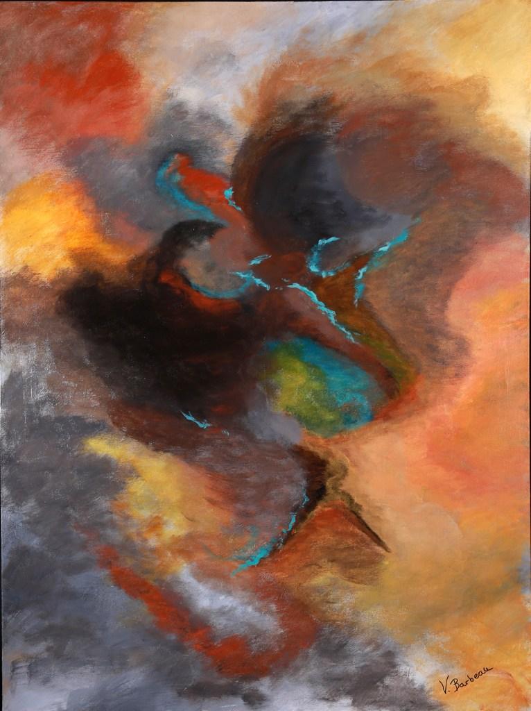 Title:Colors of Ethiopia Medium:Acrylic Size:36x48