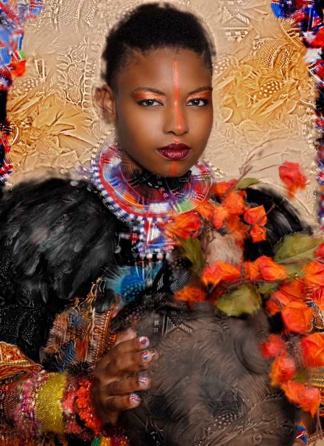 Title:oshun ( african goddess of wealth Medium:	photography Size:	20x24