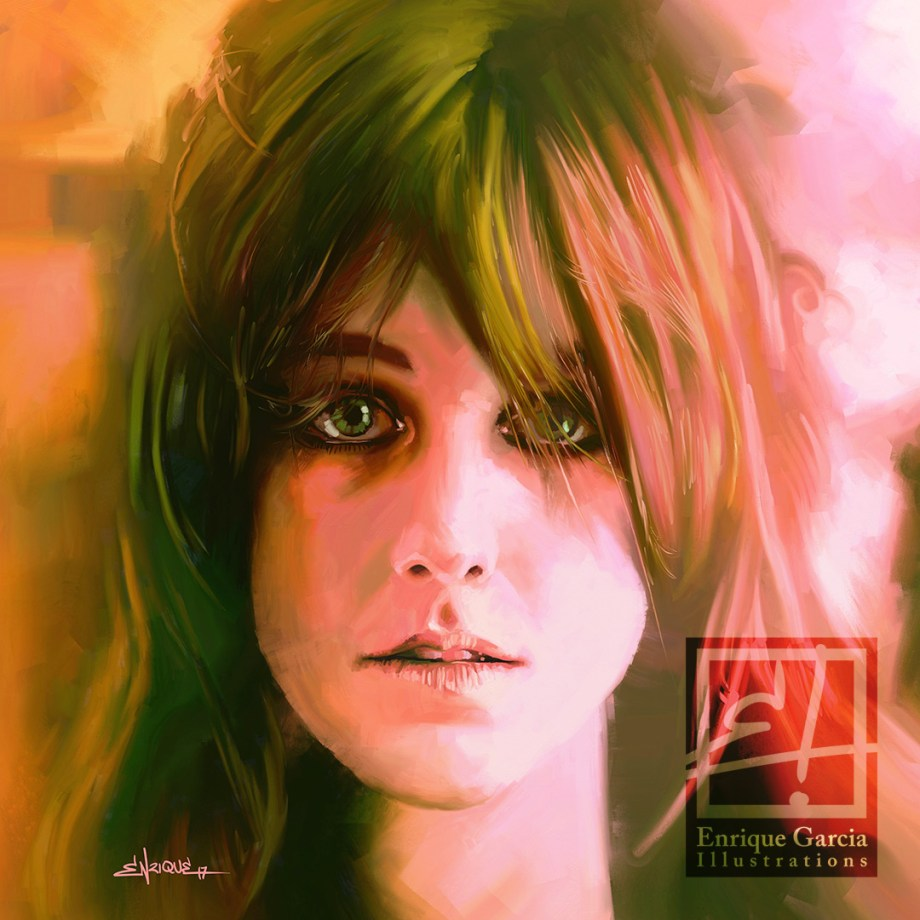 "Title:Grace Slick Medium:	Digital Size:	25""x25"""