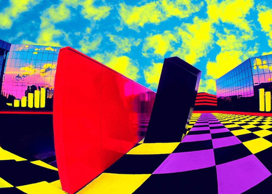 """Title: Checkerboard Square Medium: Photoshop enhanced photography Size: 20""""x30"""""""