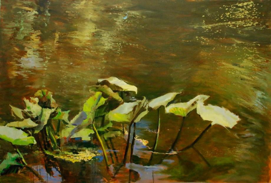 "Title:Ensenble Medium:Oil on canvas Size:48""x72"""
