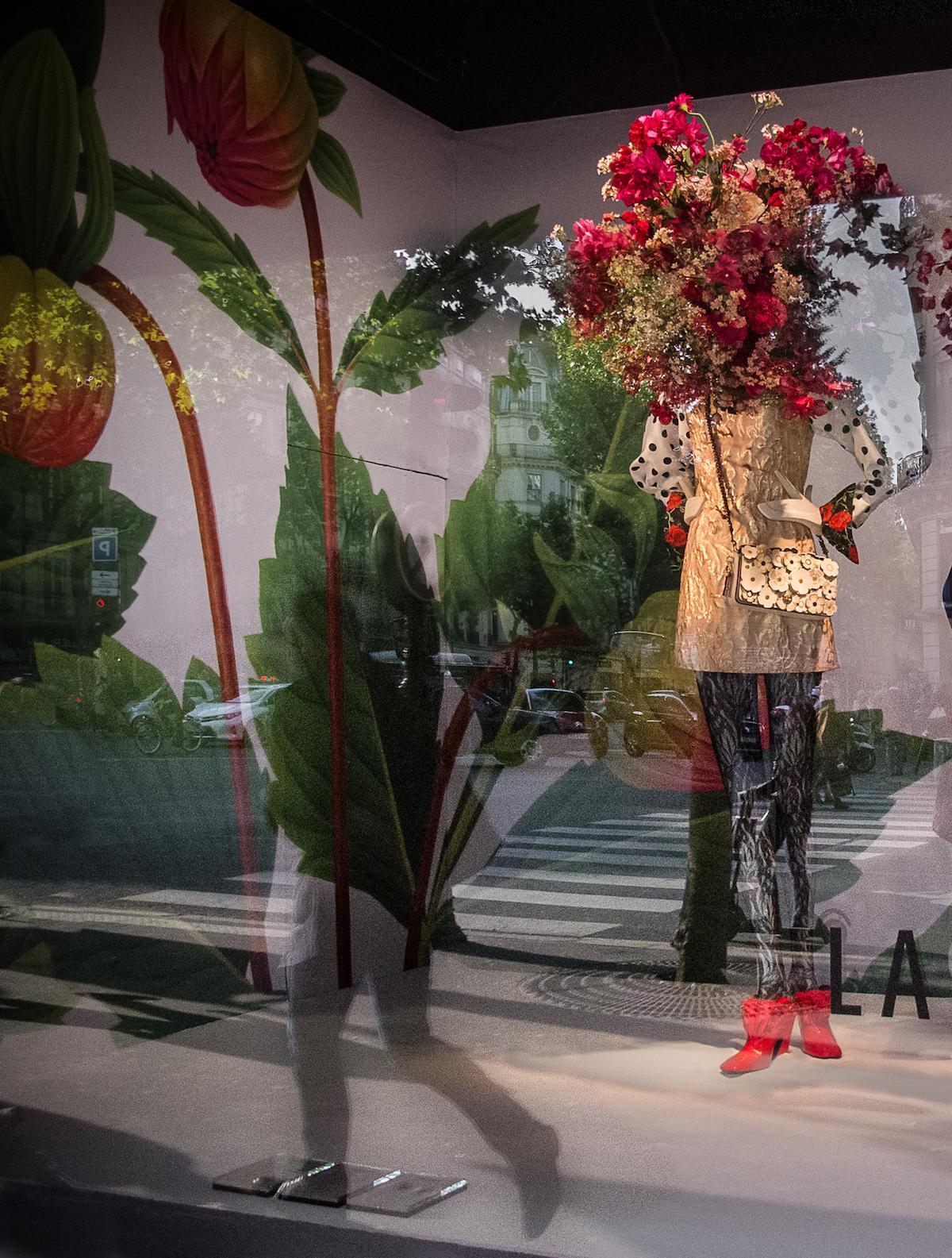 """Title: Au Printemps Paris Medium: single exposure photography Size: 10.5"""" x 8"""""""