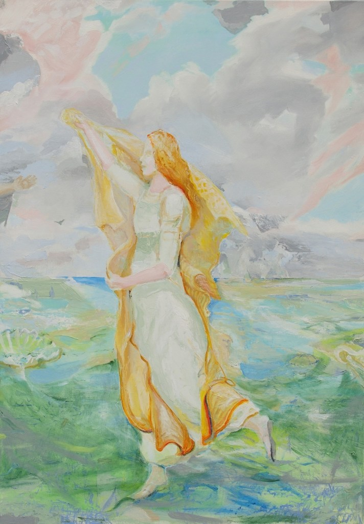 Title:Bethany Medium: Oil Size: 70 x 100 x 2 cm